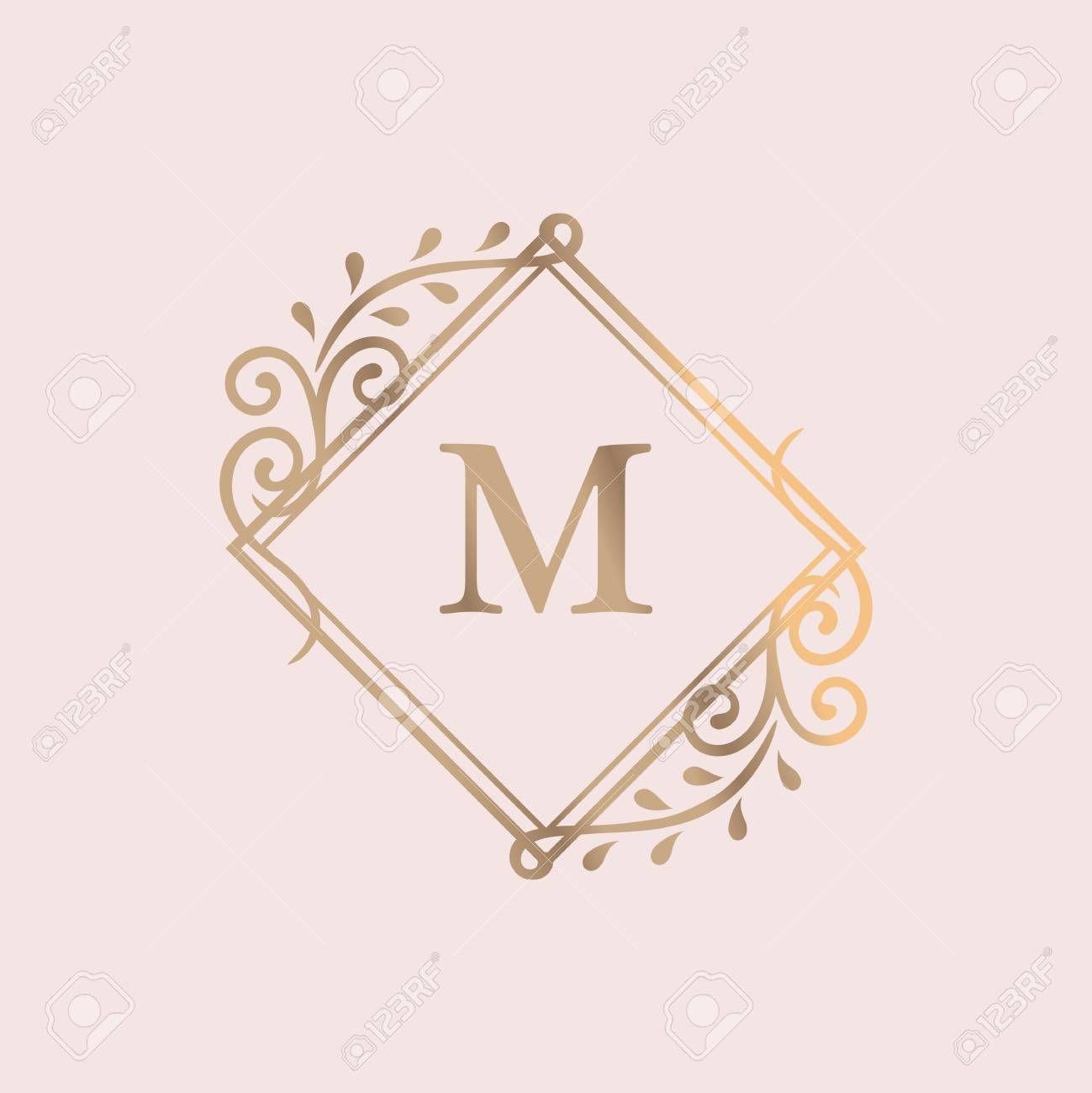 Golden Framed Vintage Logo Vector Affiliate Framed Golden Vintage Vector Logo In 2020 Graphic Design Art Design Art Graphic Design