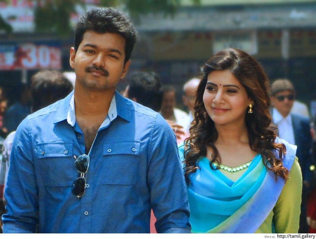 Vijay Samantha Telugu Movie Wallpapers Wallpapers Hd Wallpapers In