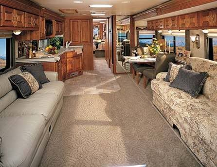 This Motorhome Would Have 2 To 3 Slideouts For It To Be This Roomy