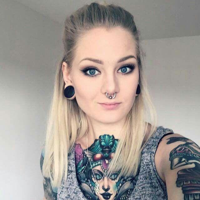 Tattoo and pierced porn