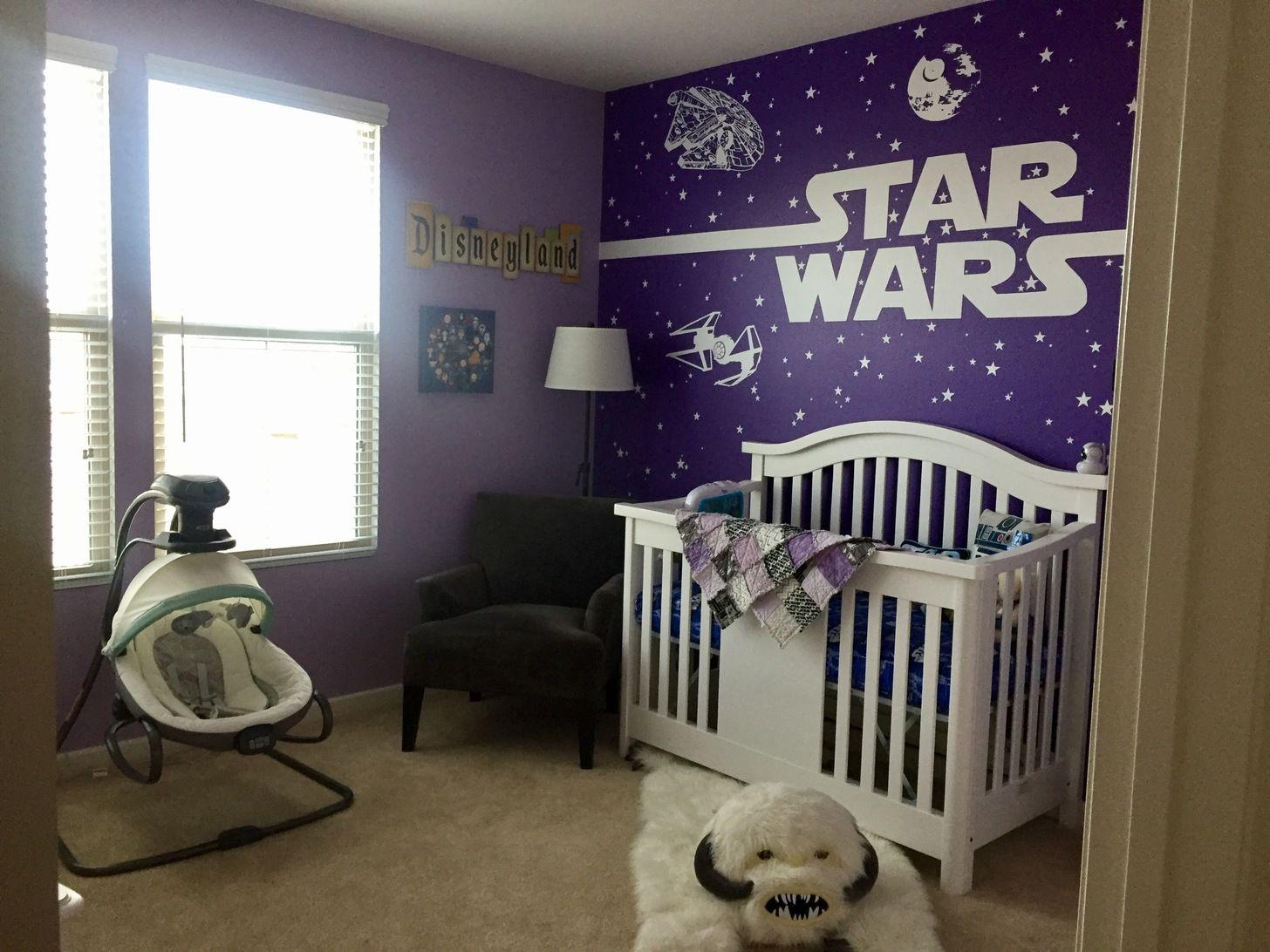 Starwars Nursery Baby Kids Room Ideas Star Wars