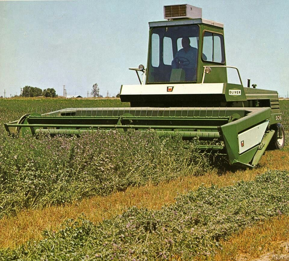 OLIVER 506 SWATHER