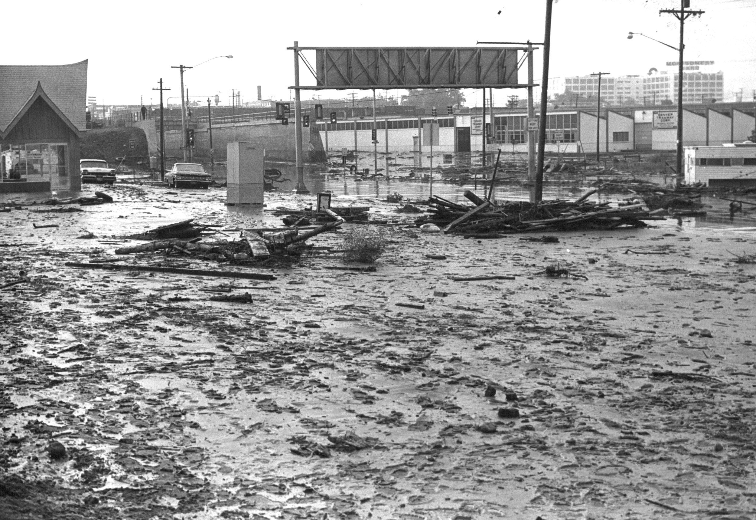 South Platte River Denver Flood 1965