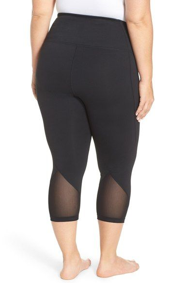 16a194069b70a Zella  Hatha  High Waist Crop Leggings (Plus Size) available at  Nordstrom
