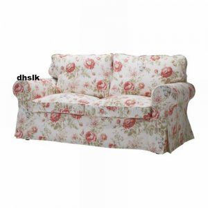 Admirable Ikea Ektorp Sofa Bed Slipcover Cover Byvik Multi Floral Gmtry Best Dining Table And Chair Ideas Images Gmtryco