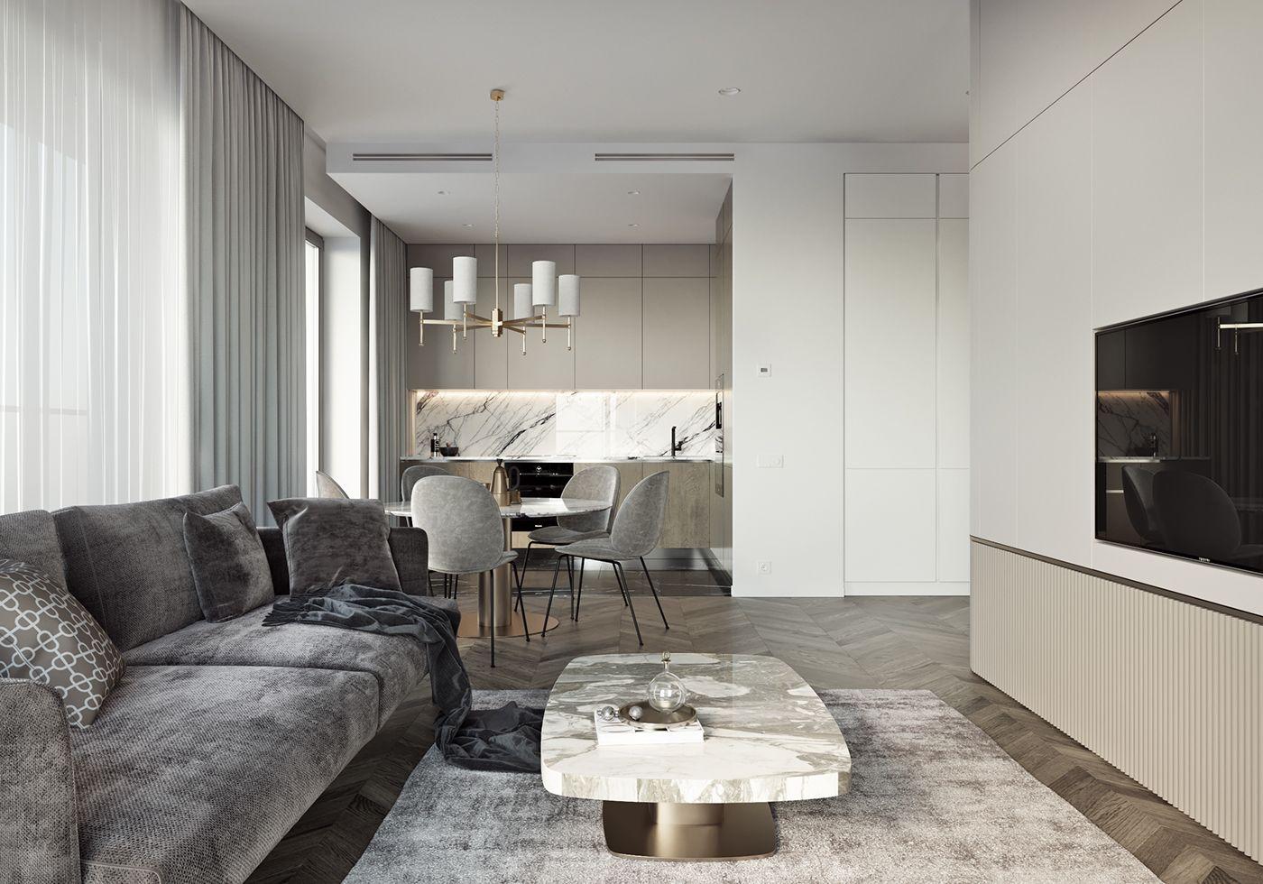 Pin By Lisetta On Apartament Foksal Small Modern Home Interior