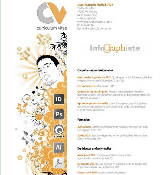 Curriculum Vitae Resume Design Creative Graphic Design Resume Creative Cv