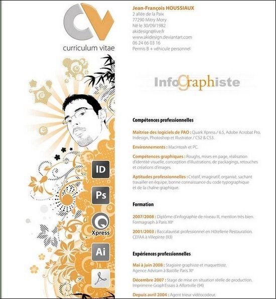 Curriculum Vitae Resume Design Creative Graphic Design Resume Creative Cv