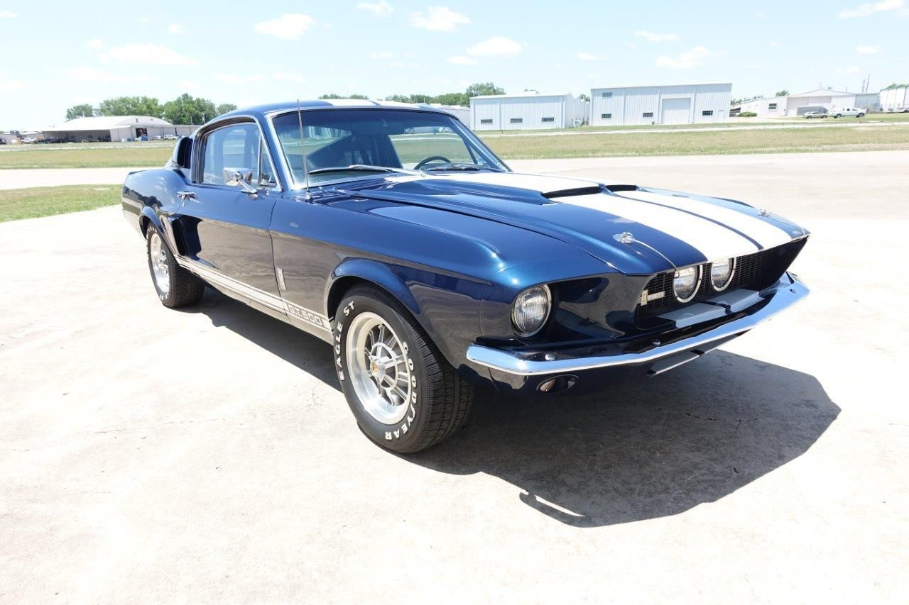 This rare 1967 Shelby GT500 is a solid, clean, and