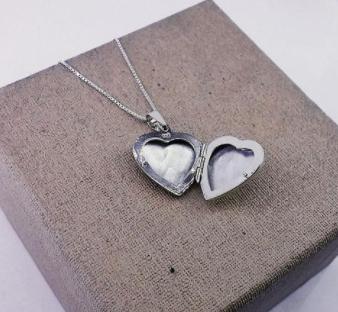 Pin En Collar Neklace En Forma De Corazón