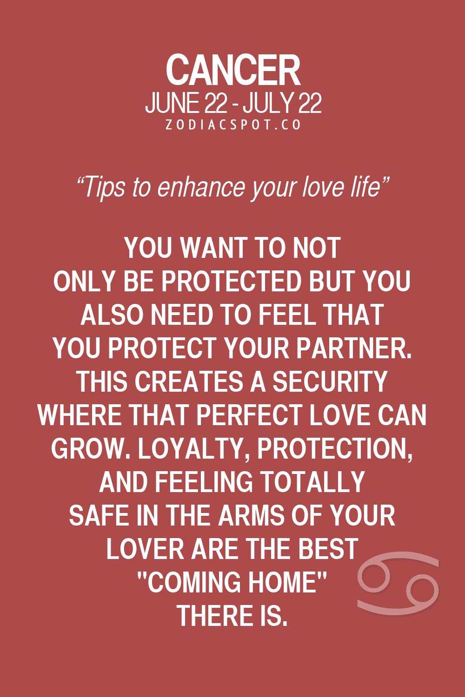 cancer zodiac sign love life