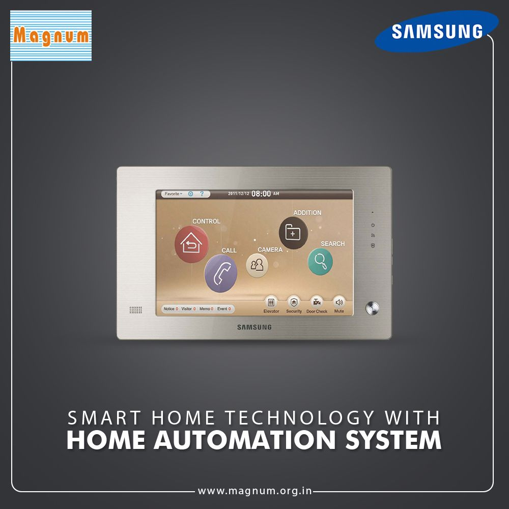Bring Smart Home Technology With Smart Home Automation System Home Automation System Home Automation Smart Home Technology