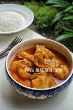 Diah Didi S Kitchen Gulai Tunjang Resep Masakan Malaysia Makanan Dan Minuman Resep Masakan