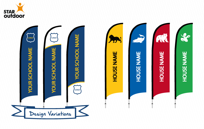 Check Out These Great Flag Banner Sample Designs For Your School S
