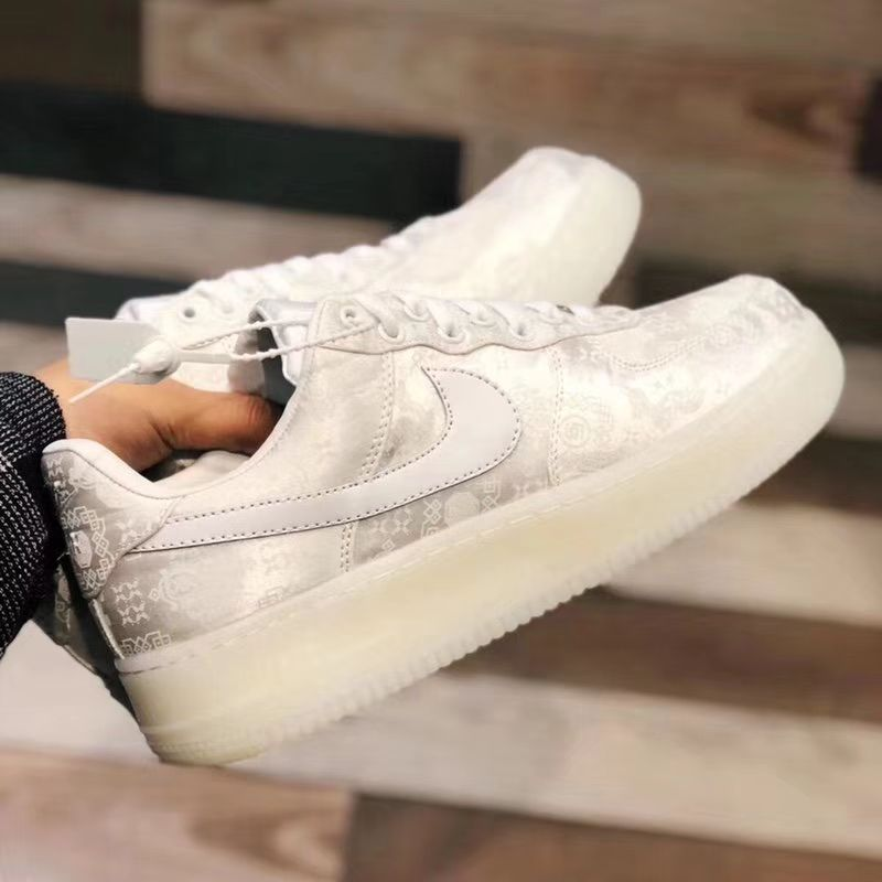 9556a05982f Nike Air Force 1 Low CLOT 1WORLD 2018 Silk White AO9286-100