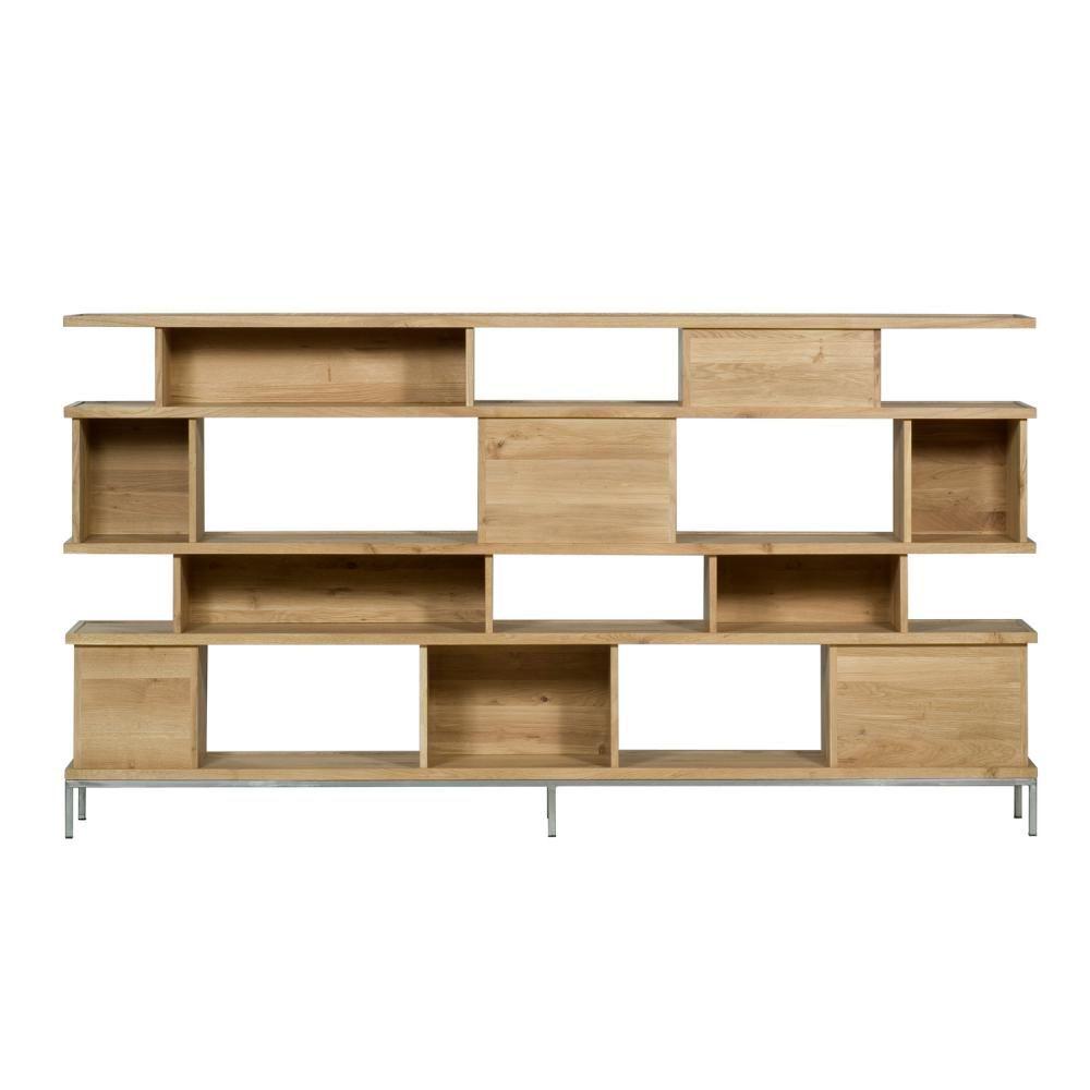 Ethnicraft oak ligna rack clickon furniture designer modern