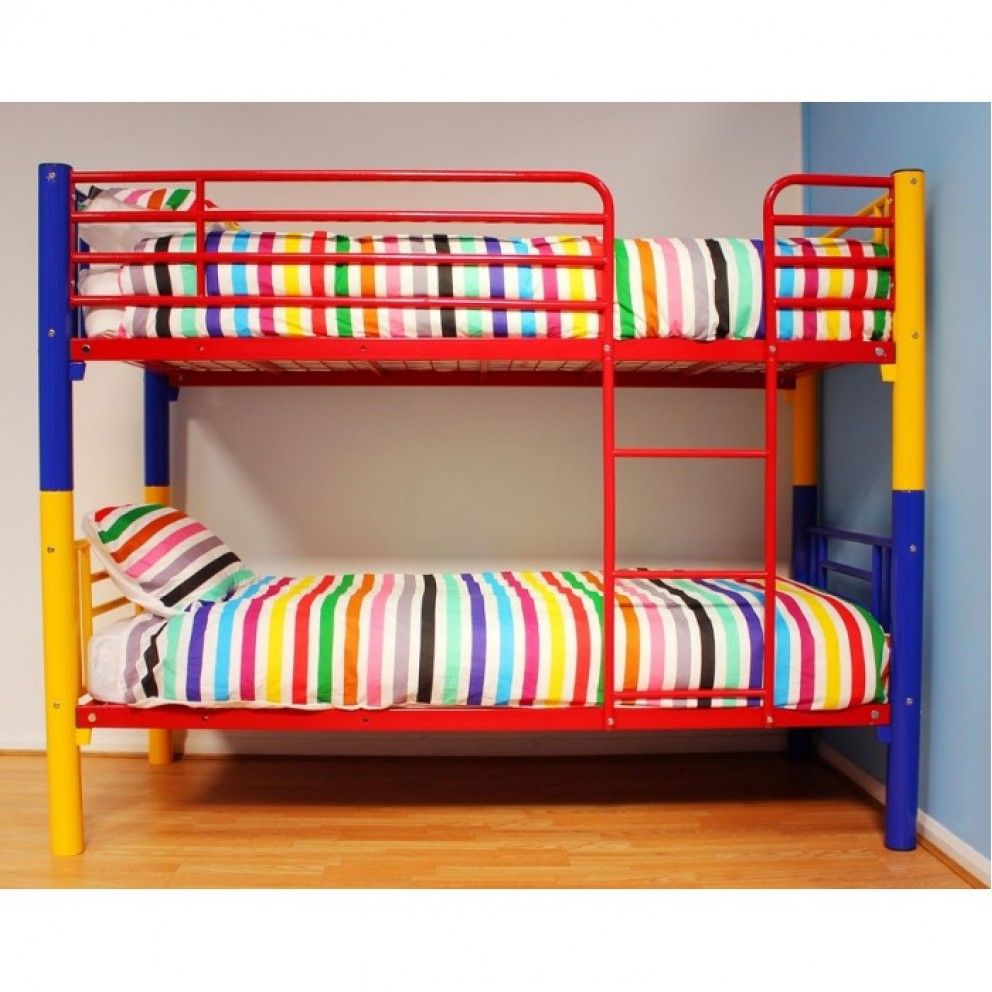 Best Harmony Superhero Metal Bunk Bed From £197 99 With Free 400 x 300