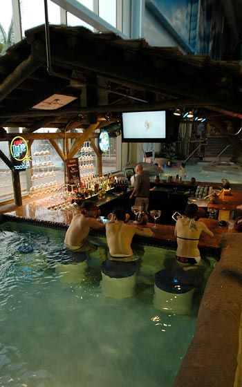 Casey Is Very Excited About This On Spring Break Swim Up Bar Kalahari Resorts Water Park