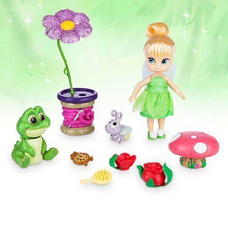 Brand New Genuine Disney Tinkerbell Animator Doll Playset