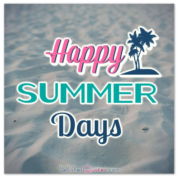 happy summer quotes