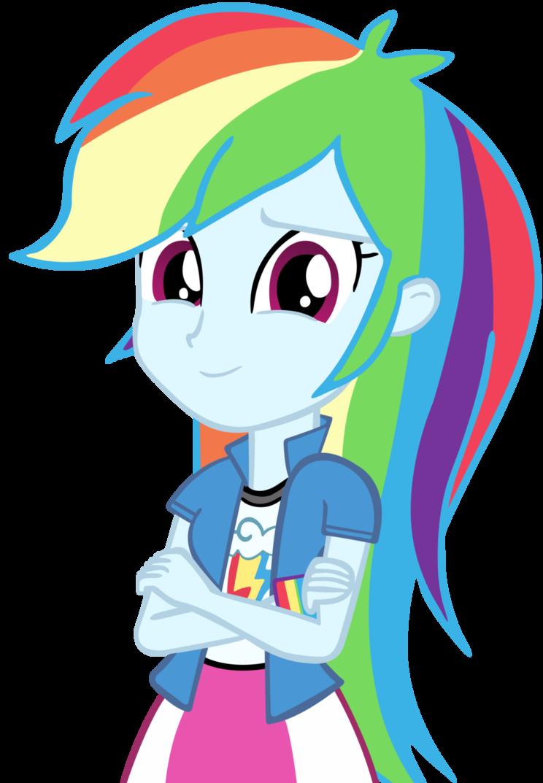 Dash, Equestria Girls | Rainbow Dash | Единорог и Аниме