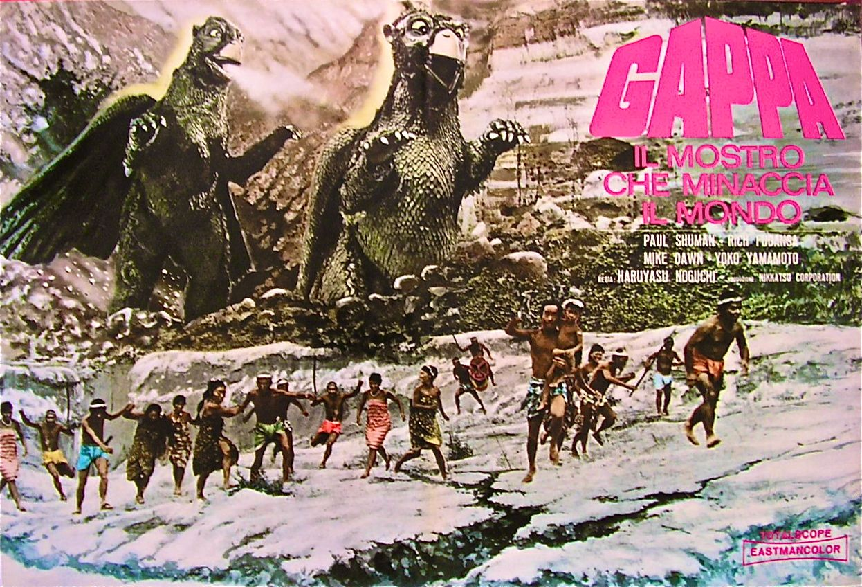 Poster for GAPPA THE TRIPHIBIAN MONSTER.