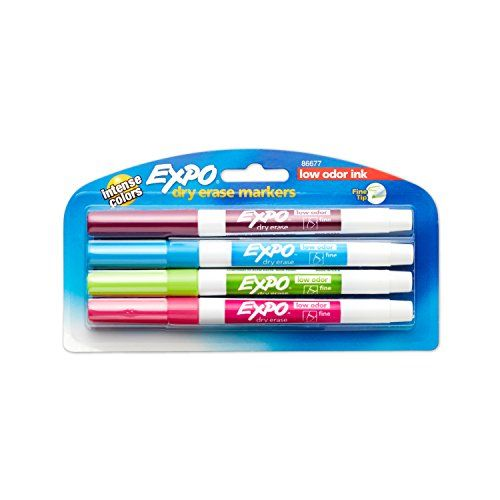 Expo Low Odor Dry Erase Markers Fine Point Fashion Colors 4 Count Details Can Be Found At Dry Erase Markers Expo Marker Markers Set