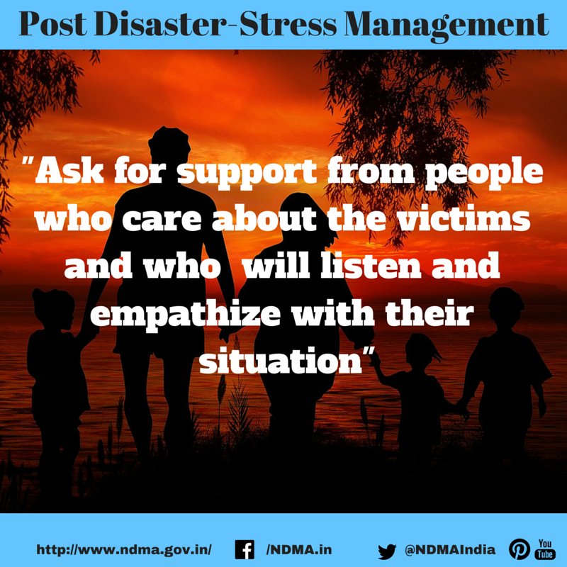 #StressManagement:Ask for support from people who care ...