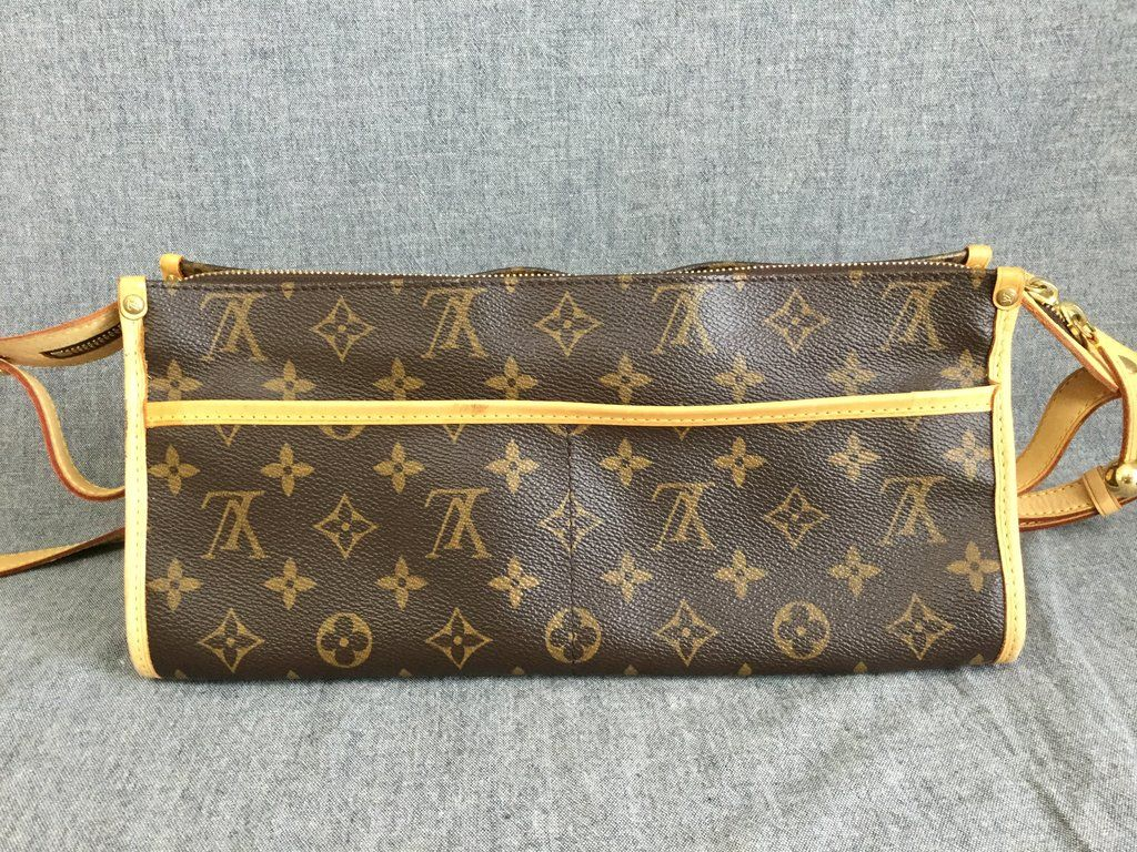 af7d2c709276 Authentic Louis Vuitton Shoulder Bag Popincourt Long M40008 Monogram ...