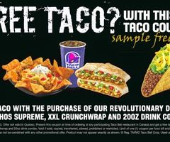 image relating to Taco Bell Coupons Printable named Printable Coupon codes: Taco Bell Coupon codes Printable Discount codes inside of