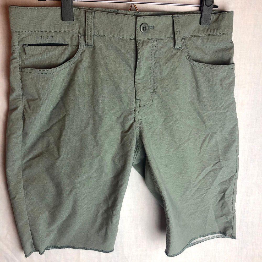 b6b08d02133c Nike SB Freemont Shorts Mens Size 30 Skateboarding Dri-Fit Pockets Green  Gray  Nike  FlatFront
