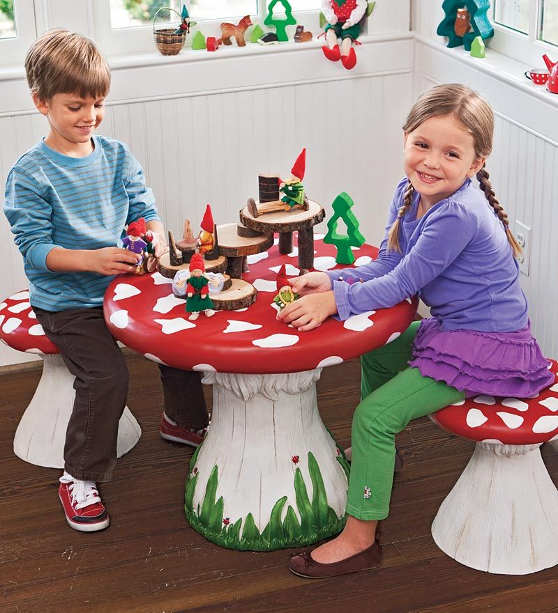 If I Have Kids They Will Need A Toadstool Table And Chairs And