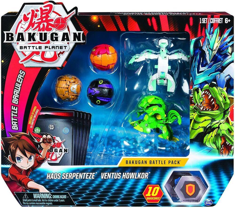 Détails sur Bakugan Pack Battle afficher le titre d'origine