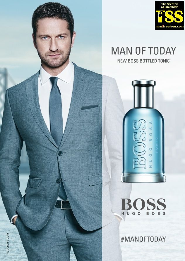 553a5b87c6 Hugo Boss Boss Bottled Tonic Fronted by Gerard Butler (2017) {New Fragrance}  {Men's Cologne} {Celebrity-Endorsed Scent}
