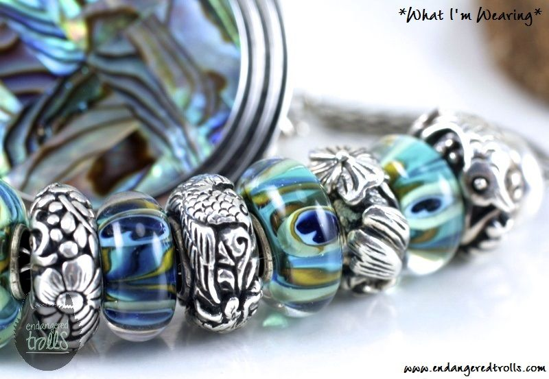 e68d081769 Trollbeads Peacocks (Small   Beautiful   Big   Beautiful) Gypsy Jewelry