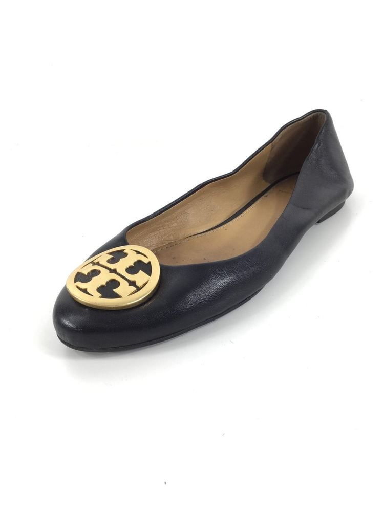 988e376aba32 E30 Tory Burch Benton Black Leather Flats Women Size 5.5 M  fashion   clothing  shoes  accessories  womensshoes  flats (ebay link)