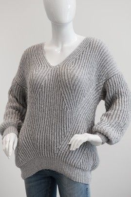 Patentstrikket sweater #strikkeopskriftsweater