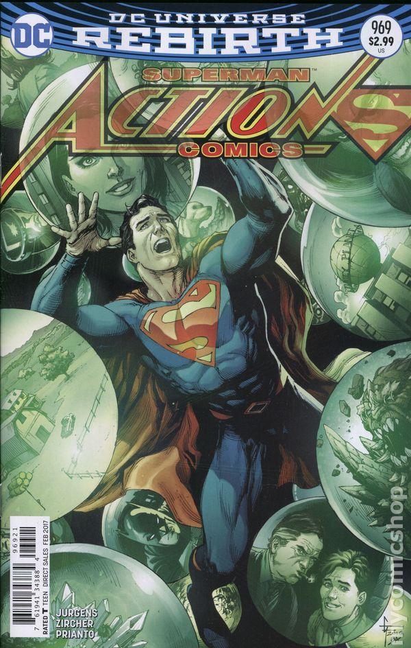 Action Comics (2016 3rd Series) 969B