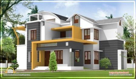 Modern House Plans In Kerala Modern Exterior House Designs Kerala House Design House Balcony Design