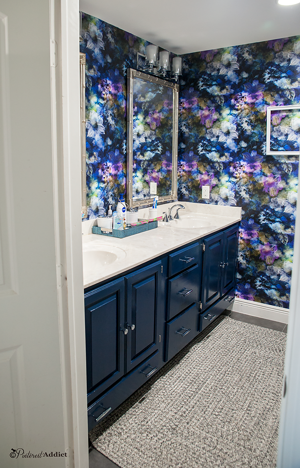 9 Creative Ways To Use Peel And Stick Wallpaper Smithhonig Bathroom Wallpaper Trends Peel And Stick Wallpaper Wallpaper Trends