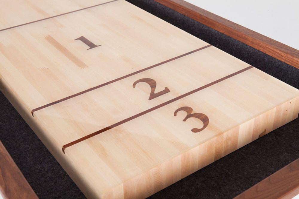 SHUFFLEBOARDSILVER 5.jpg Shuffleboard table