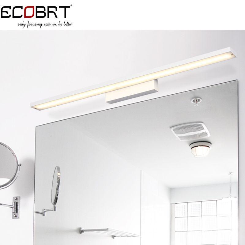 Goedkope Moderne 100 Cm Lange 24 W Luminaria Aluminium Led Wandkandelaar Lamp 85 265 V Modieuze Home De Bathroom Lighting Bathroom Mirror Lights Modern Sconces