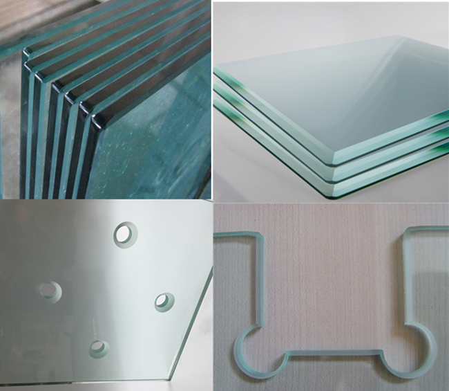 Curved Glass Polished Edge Glass Suppliers Laminated Glass Curved Glass