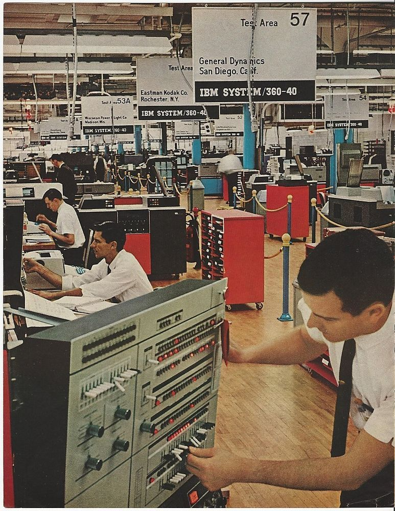 Before IBM PC: 1966 IBM System 360 Computer Tests 4 General