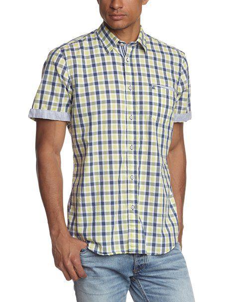 d4eabee62 LERROS 2542270 - Camisa para hombre: Amazon.es: Ropa y accesorios ...