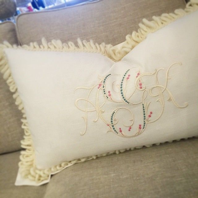 DYING over this adorable pillow that just walked in for one special little girl!! @bobbinsdesign we did it again! #homerun #luluandmehome #itsallinthedetails #perfectpair #shoplocal #fairhopelocal