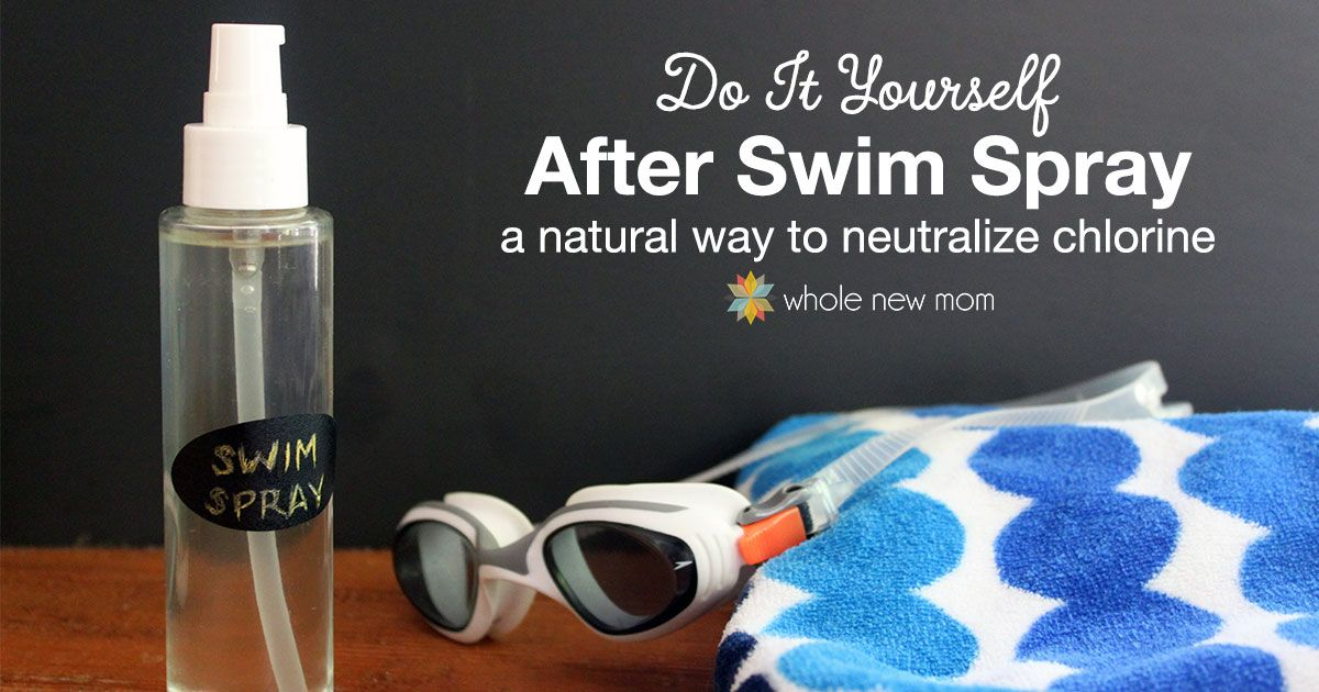 Diy swim spray protect yourself from chlorine natural remedies keep your family safe this summer with this diy after swim spray that neutralizes chlorine solutioingenieria Gallery