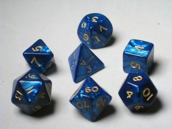 DND Dice Polyhedral 7-Die Dice Set for D/&D Dungeons /& Dragons Role Playing Gaming Resin Four Layers of Color,Half Transparent