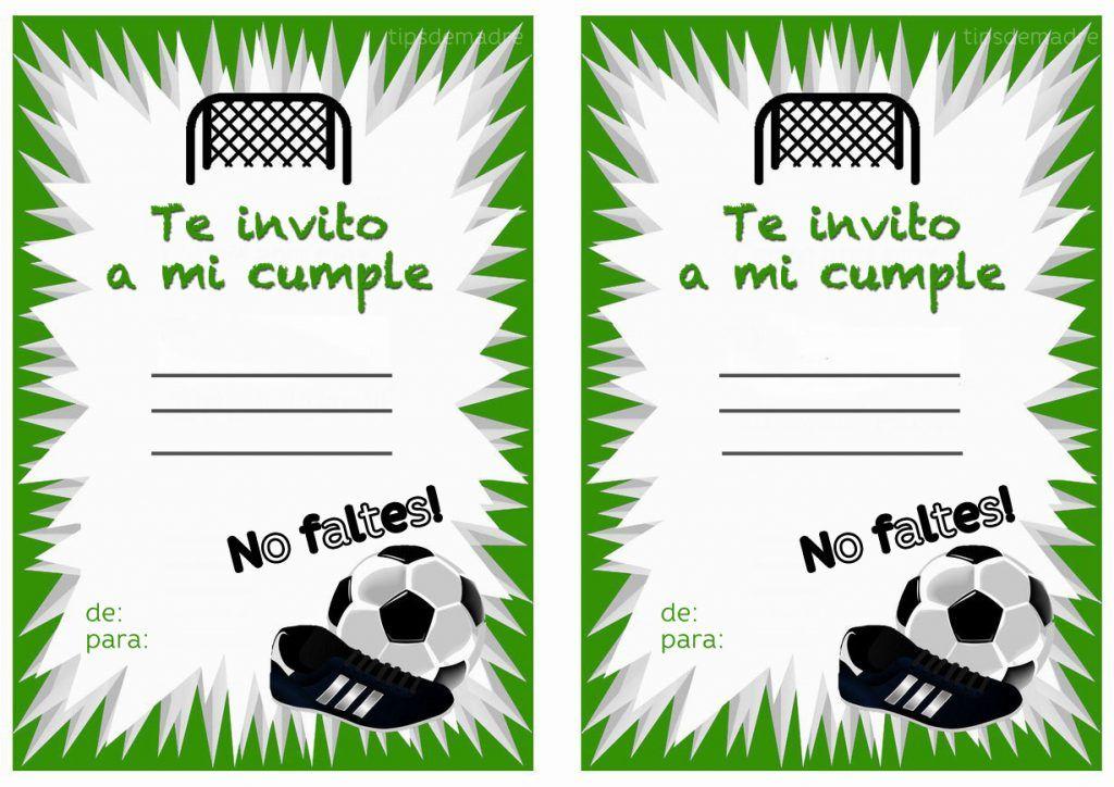 Fiesta Temática De Fútbol Soccer Para Niños Tips De Madre Fiestas Temáticas De Fútbol Invitaciones De Cumpleaños Futbol Fiesta De Cumpleaños De Fútbol