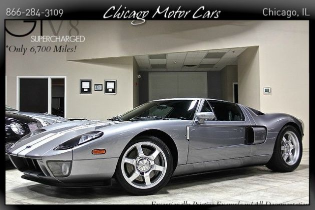 2006 Ford Gt Gt40 Tungsten Grey Metallic Exterior Over Ebony